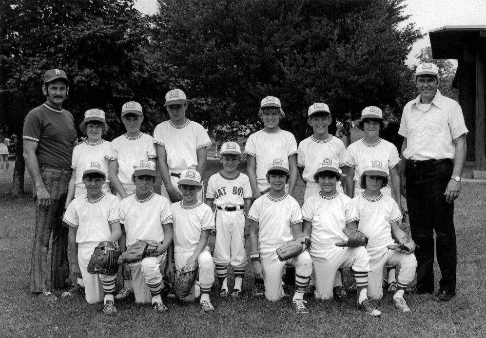 Our Lincoln Square Little League Team from Urbana, IL, circa 1975